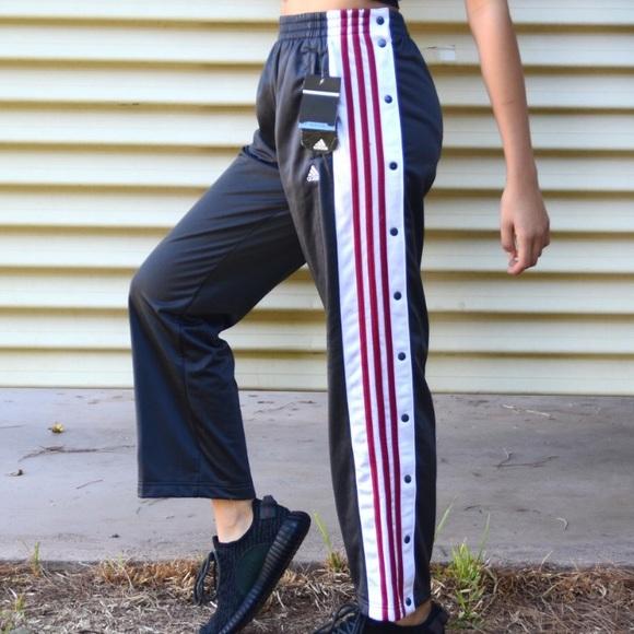 Vintage Adidas Tearaway Track Pants Joggers NWT